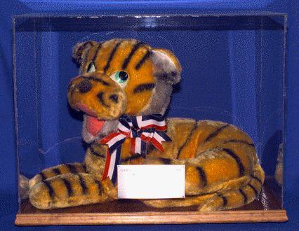 save slogan on tiger